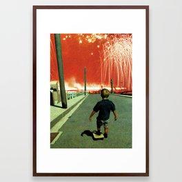 walkmen  Framed Art Print