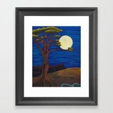 Gaia and Luna Ver. 2.0 Framed Art Print