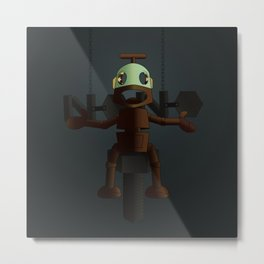 Nono the robot (reloaded) Metal Print
