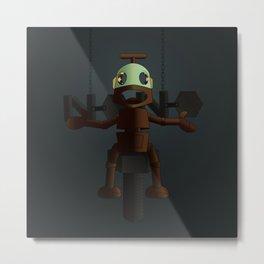 Nono the robot (reloaded) Metal Print