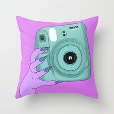 instax Throw Pillow