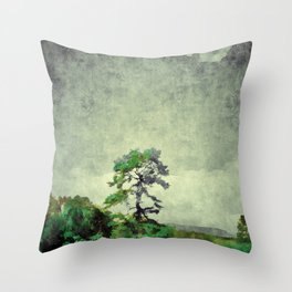Landscape I Throw Pillow