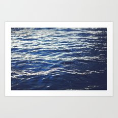 water surface 3 Art Print