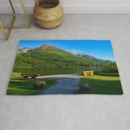 Summit Lake - Kenai Peninsula, Alaska Rug