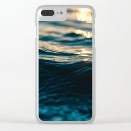 Calming Clear iPhone Case