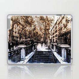 Barcelona, Streets Laptop & iPad Skin