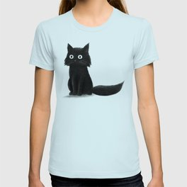 Sitting Cat (mono) T-shirt