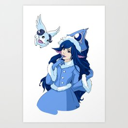 Lulu League of Legends Art Print