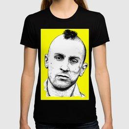 Taxi Driver Travis Bickle Block Series T-shirt