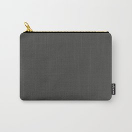 BROADWAY Dark neutral solid color Carry-All Pouch