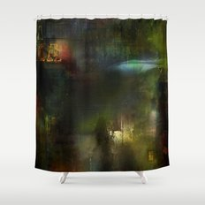 Somewhere in the future Shower Curtain