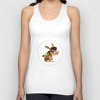 donkey Tank Tops featuring Donkey by Jose Campa