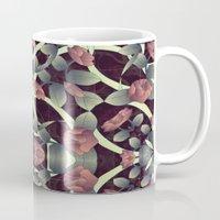 tiffany Mugs featuring Tiffany rose by kociara