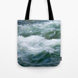 Athabasca Waves Tote Bag