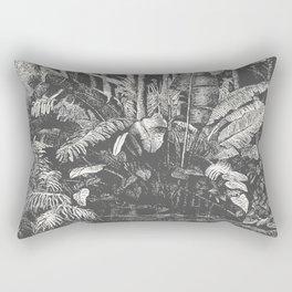 Palms in Water Rectangular Pillow