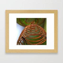 Copper Spring Framed Art Print