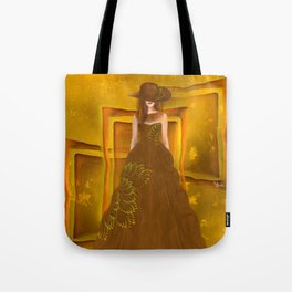 Autumn ball gown Tote Bag