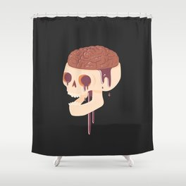 Yummy Skull Shower Curtain