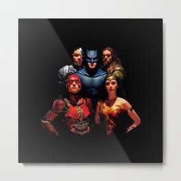 Justice League Metal Print