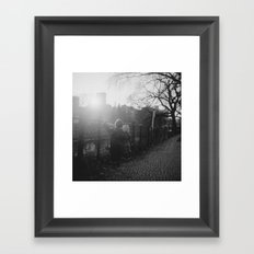Two Boys in Berlin Framed Art Print