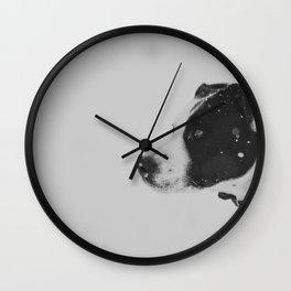 Snoop in Profile Wall Clock