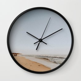 HALF MOON BAY III Wall Clock