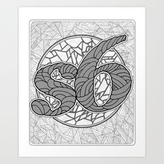 s6 Tee 1 Art Print