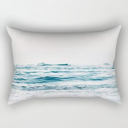 Kiss Me Like A Wave Rectangular Pillow