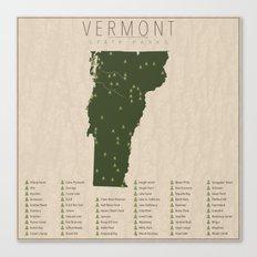Vermont Parks Canvas Print