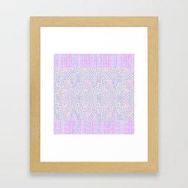 Zigity Zagaty Stripes Framed Art Print