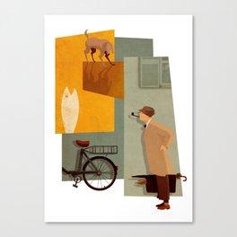 Mon Oncle Canvas Print