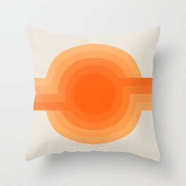 Sunspot -  Creamsicle Throw Pillow