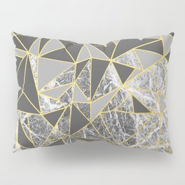 Ab Marb Grey Returned Pillow Sham