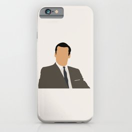 Don Draper Mad Men tv series iPhone Case