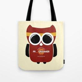 owl programmer Tote Bag