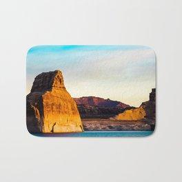 Lone Rock. Glen Canyon. Utah. USA Bath Mat