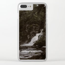 Linville Falls Clear iPhone Case