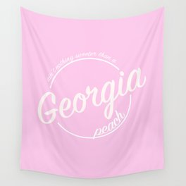 Sweet Georgia Peach Wall Tapestry
