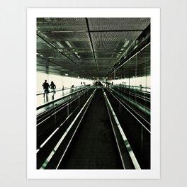 Walkway Art Print