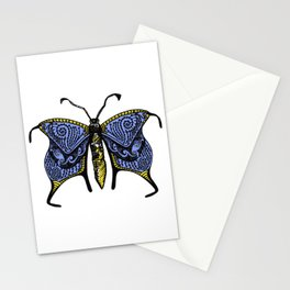 Nondescript Moth that you may talk with on a bus and never think about again Stationery Cards