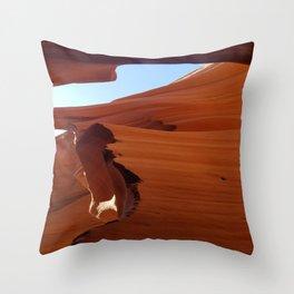 Antelope Canyon #5 Throw Pillow