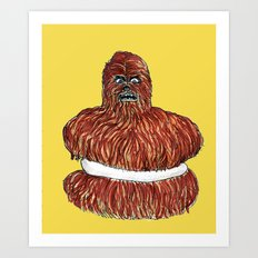 wookie pie Art Print