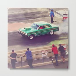 Drag Race Metal Print