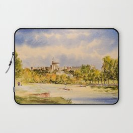 Windsor Castle And River Thames Laptop Sleeve
