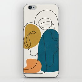 Abstract Faces 26 iPhone Skin