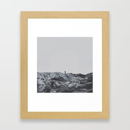 Do you go up Framed Art Print