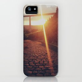Sunset Bridge iPhone Case