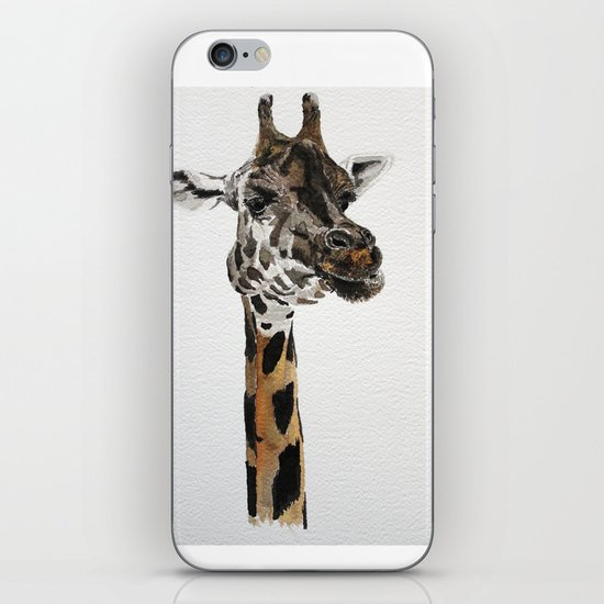 Giraffa camelopardalis iPhone & iPod Skin
