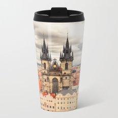 PRAGUE 3 Metal Travel Mug