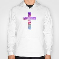cross Hoodies featuring CROSS by Pocket Fuel